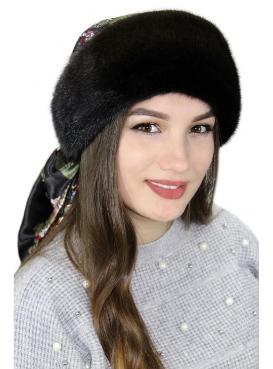 """Меховая бандана """"Рейна"""""""