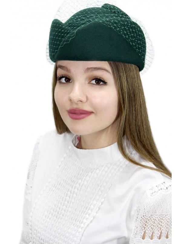 """Шляпка-таблетка """"Рошель"""""""