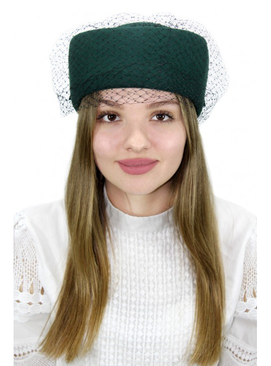 "Шляпка-таблетка ""Сандия"""