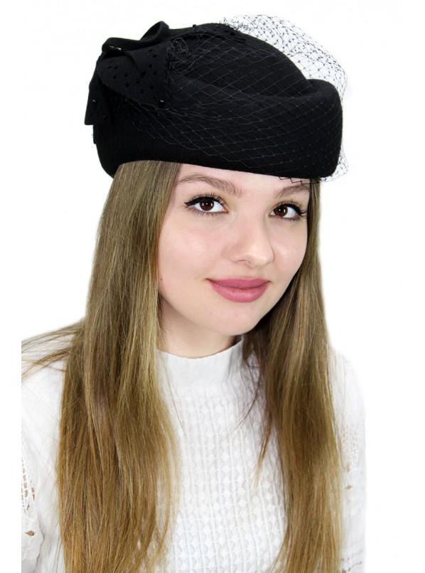 """Шляпка-таблетка """"Веслия"""""""